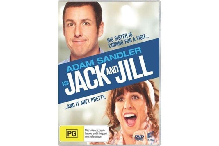Jack and Jill -Comedy Rare- Aus Stock DVD Preowned: Excellent Condition