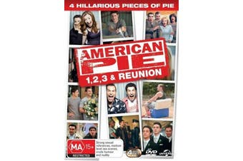 American Pie 1,2, 3 &Reunion -Comedy Rare- Aus Stock DVD Preowned: Excellent Condition