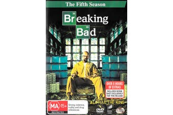 Breaking Bad Season 5 - DVD Series Rare Aus Stock Preowned: Excellent Condition