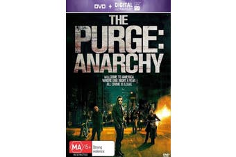 The Purge: Anarchy (+UV) - Rare DVD Aus Stock Preowned: Excellent Condition