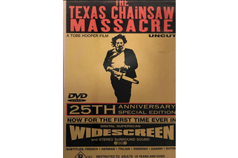 Texas Chainsaw Massacre - Rare DVD Aus Stock Preowned: Excellent Condition