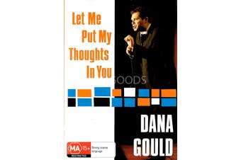 Dana Gould Let Me Put My Thoughts In You -Comedy Region All DVD Preowned: Excellent Condition