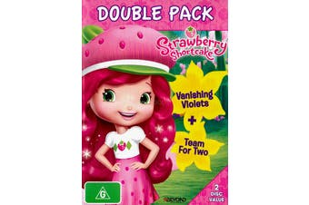 STRAWBERRY SHORTCAKE: DOUBLE PACK -DVD Animated Series Rare Aus Stock