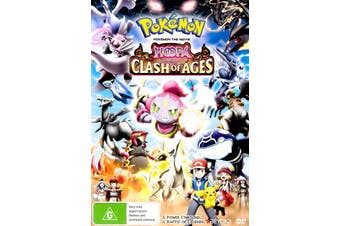Pokemon Hoppa and the Clash of the Ages -Rare Preowned DVD Excellent Condition Aus Stock Animated
