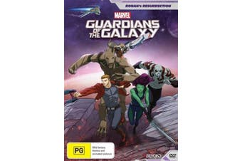 Guardians of the Galaxy Roman's Ressurection -DVD Animated Preowned: Excellent Condition