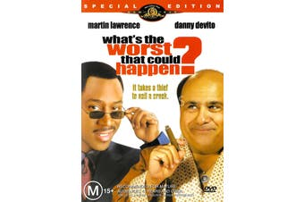 What's the worst that could happen? -Comedy Region 4 Rare- Aus Stock Preowned DVD Excellent Condition