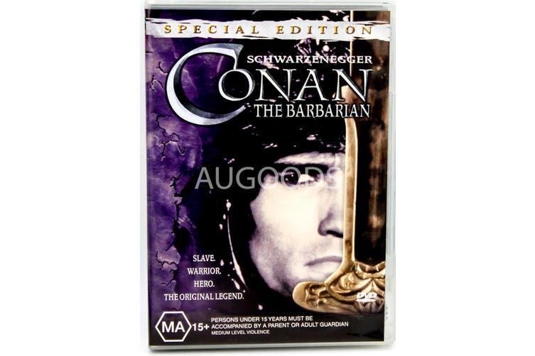 Conan The Barbarian - Rare DVD Aus Stock Preowned: Excellent Condition