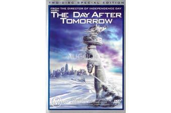The Day After Tomorrow - Rare DVD Aus Stock Preowned: Excellent Condition