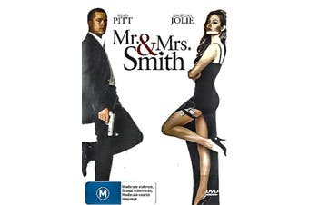 MR. & MRS. SMITH - Rare DVD Aus Stock Preowned: Excellent Condition