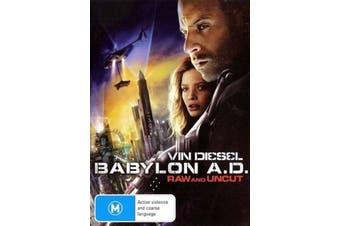 Babylon A.D. Raw Uncut - Rare DVD Aus Stock Preowned: Excellent Condition