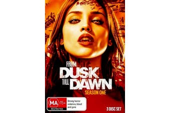 From Dusk Till Dawn : Season 1 - DVD Series Rare Aus Stock Preowned: Excellent Condition