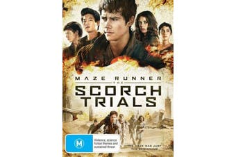 The Maze Runner - Scorch Trials - Rare DVD Aus Stock Preowned: Excellent Condition