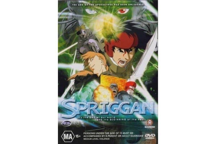 Spriggan Anime- Hirotsugu Kawasaki - Region 4 Rare- Aus Stock Preowned DVD Excellent Condition