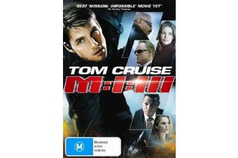 Mission Impossible 3 - Rare DVD Aus Stock Preowned: Excellent Condition