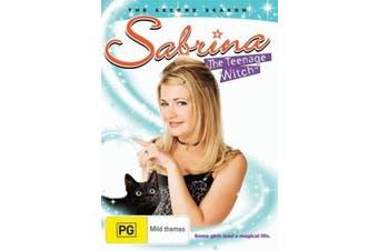 Sabrina Season 2 -DVD Comedy Series Rare Aus Stock Preowned: Excellent Condition