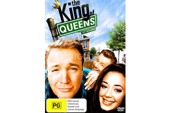 The King of Queens Season 3 -DVD Series Rare Aus Stock -Family Preowned: Excellent Condition