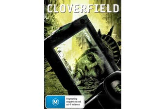 CLOVERFIELD - Rare DVD Aus Stock Preowned: Excellent Condition