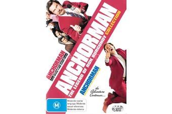 Anchorman -Rare DVD Aus Stock Comedy Preowned: Excellent Condition