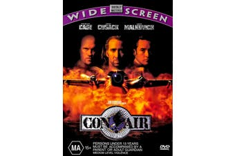 CON AIR - Rare DVD Aus Stock Preowned: Excellent Condition