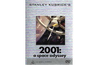 STANLEY KUBRICK'S 2001: A SPACE ODYSSEY - Rare DVD Aus Stock Preowned: Excellent Condition