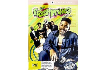 THE FRESH PRINCE OF BEL-AIR -DVD Comedy Series Rare Aus Stock Preowned: Excellent Condition