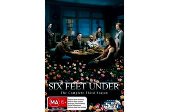 Six Feet Under : Season 3 - DVD Series Rare Aus Stock Preowned: Excellent Condition