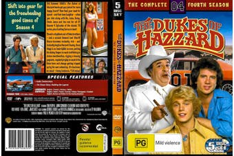 The Dukes Of Hazzard : Season 4 - DVD Series Rare Aus Stock Preowned: Excellent Condition