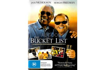 The Bucket List -Rare DVD Aus Stock Comedy Preowned: Excellent Condition