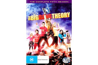 The Big Bang Theory Season 5 -DVD Series Rare Aus Stock -Family Preowned: Excellent Condition