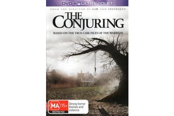 The Conjuring (+UV) - Rare DVD Aus Stock Preowned: Excellent Condition