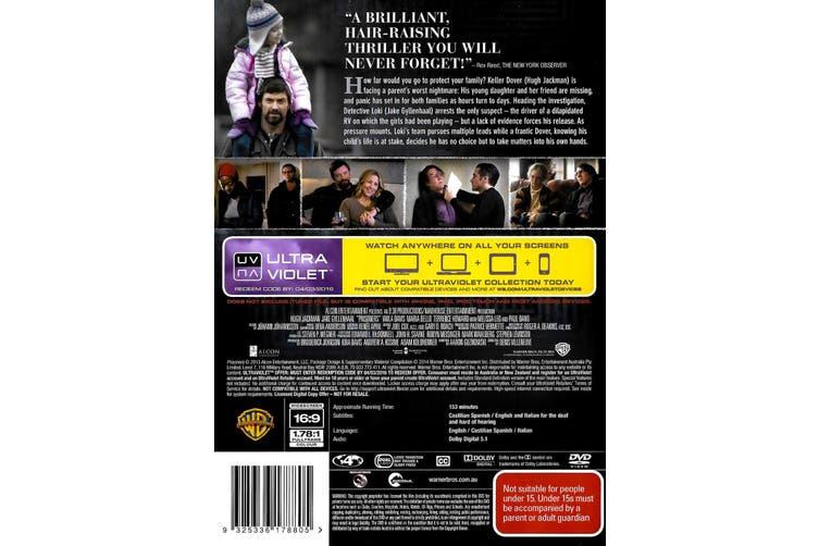 Prisoners (2013) (+UV) - Rare DVD Aus Stock Preowned: Excellent Condition