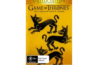 Game of Thrones The Complete Fourth Season -DVD War Series Preowned: Excellent Condition