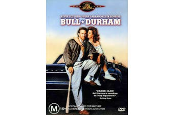 Bull Durham Kevin Costner Susan Sarandon Tim Robbins -DVD -Comedy