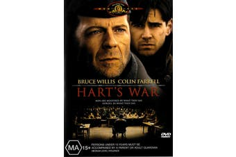 Hart's War - Rare DVD Aus Stock Preowned: Excellent Condition