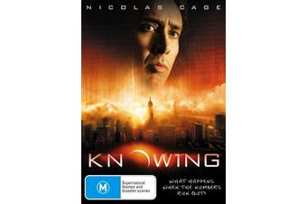 Knowing - Rare DVD Aus Stock Preowned: Excellent Condition