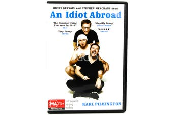 The Idiot Abroad - Rare DVD Aus Stock Preowned: Excellent Condition