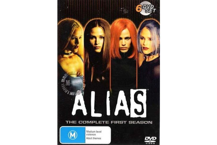 ALIAS - THE COMPLETE FIRST SEASON - DVD Series Rare Aus Stock Preowned: Excellent Condition