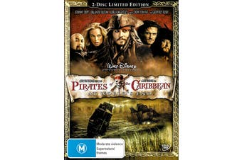 PIRATES OF THE CARRIBEAN - AT WORLDS END - 2 DISC EDITION - DVD Preowned: Excellent Condition