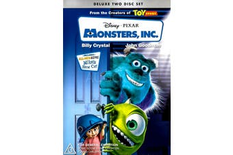 MONSTERS INC -Rare DVD Aus Stock Animated Preowned: Excellent Condition