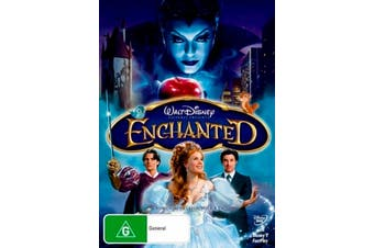Disney Enchanted -Kids DVD Rare Aus Stock Preowned: Excellent Condition