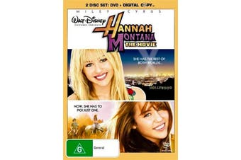Hannah Montana - The Movie -Rare DVD Aus Stock -Kids & Family Preowned: Excellent Condition