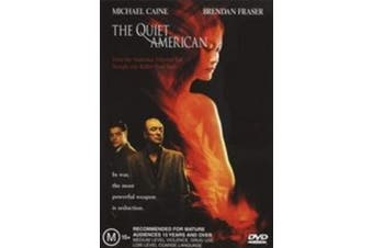 The Quiet American, - Rare DVD Aus Stock Preowned: Excellent Condition