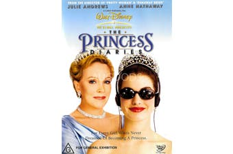 Princess Diaries -Rare DVD Aus Stock -Family Preowned: Excellent Condition