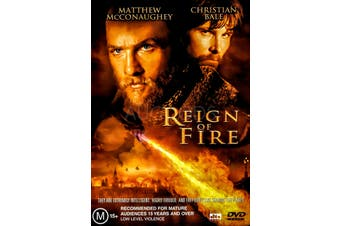 REIGN OF FIRE - Rare DVD Aus Stock Preowned: Excellent Condition