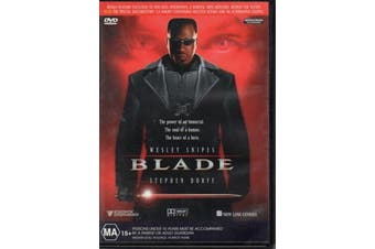 Blade  - Rare- Aus Stock DVD  Preowned: Excellent Condition