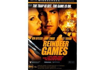 REINDEER GAMES - Rare DVD Aus Stock Preowned: Excellent Condition