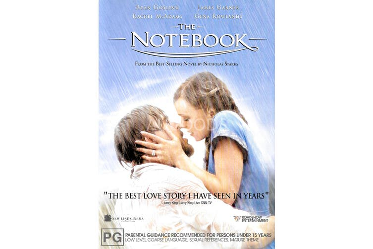 The Notebook - Rare DVD Aus Stock Preowned: Excellent Condition