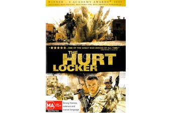 The Hurt Locker - Rare DVD Aus Stock Preowned: Excellent Condition