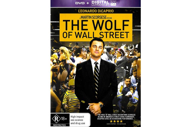 The Wolf of Wall Street -Rare DVD Aus Stock Comedy Preowned: Excellent Condition