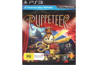 PUPPETEER PS4 Playstation 4 Pre-owned Game: Disc Like New